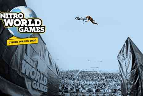 Nitro World Games 2020 - Day or Weekend Tickets from 23 To 24 May - Save 50%