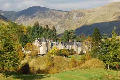 Dalmunzie Castle - Two nights castle stay with meals - Save 49%