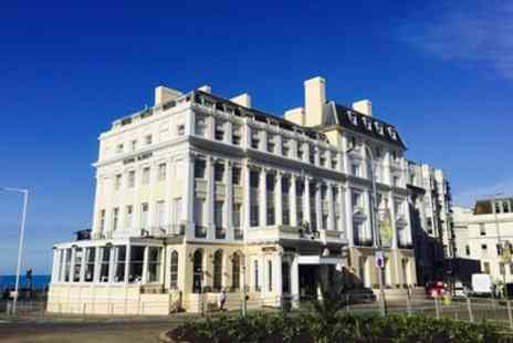 The Royal Albion Hotel - One Night Stay for Two with Breakfast and Option for Dinner and Wine - Save 0%