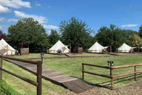 Oaklodge Retreat - Luxury Tent Stay for Up to Four with Breakfast and Spa Access - Save 67%