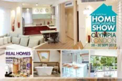 The National Home Improvement Show - Two Tickets Plus Two Copies of Real Homes Magazine - Save 50%