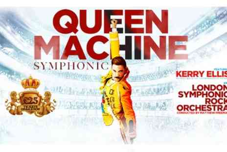 Queen Machine Symphonic featuring Kerry Ellis - One ticket from 15th To  25th April 2020 - Save 62%