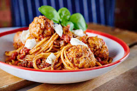 Frankie and Bennys - Two course la carte dining - Save 58%