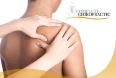Complete Chiropractic - Chiropractic Consultation With Three Follow Up Sessions - Save 80%