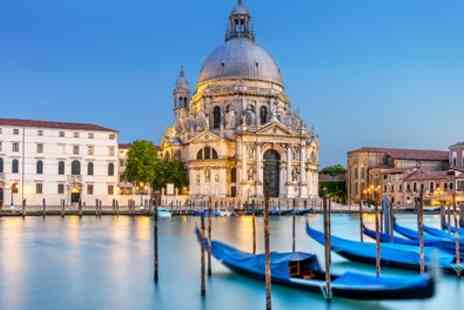 Venice Four Star Stay with Breakfast and Gondola Ride - 2 To 4 Nights in a Choice of Hotels with Gondola Cruise and Flights - Save 0%