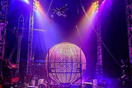 The Extreme Stunt Show - Grandstand ticket to Circus Extreme - Save 50%