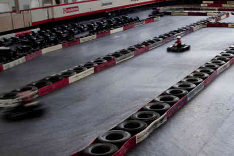Wakefield Indoor Karting - 30 minute arrive and drive go kart session for one - Save 50%