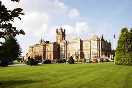 Crewe Hall - Spa day for one with two treatments, leisure access, hot drink and Danish pastry - Save 53%