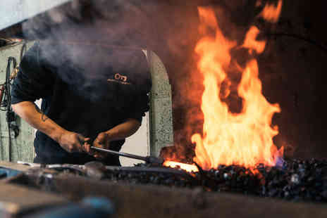 Oldfield Forge - Three hour forging experience for one - Save 28%