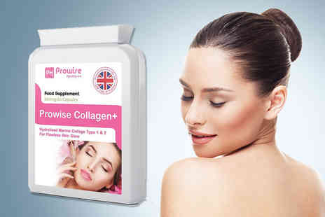 Prowise Healthcare - One month supply of collagen plus capsules encourage healthier more youthful looking hair and nails  - Save 83%