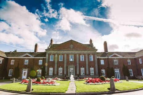 Mottram Hall - Overnight Cheshire stay for two people with breakfast and a bottle of pink Prosecco - Save 57%