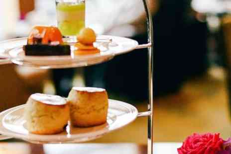 Richoux - Afternoon Tea with Optional Glass of Prosecco for Two or Four - Save 29%