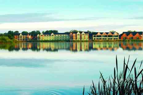De Vere Cotswold Water Park - Overnight Cotswolds stay for two people with spa access, breakfast - Save 50%