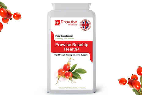 Prowise Healthcare - 4 Month Supply of Prowise Rosehip 5000mg 120 Tablets - Save 77%