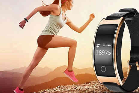 Domosecret - CK11S Bluetooth Android & iOS Compatible Smart Watch Available in 2 Colours - Save 67%