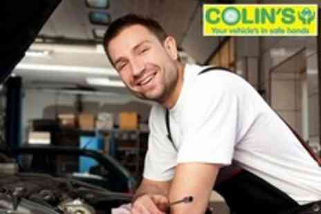 Colins MOT and Service Centre - 54 Point Car Service With Oil and Filter Change - Save 72%
