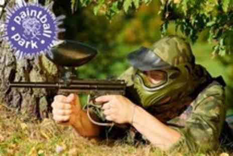 Paintball South - Paintballing For Five With 100 Pellets Each and Lunch - Save 81%