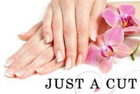 Just a Cut - Manicure or Pedicure - Save 20%