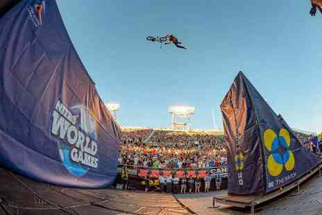 Live Nation - Two tickets to Nitro World Games - Save 0%