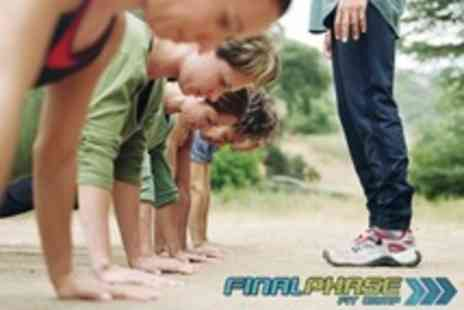 Final Phase Fit Camp - 12 Boot Camp Sessions and One Month Nutrition Programme - Save 91%