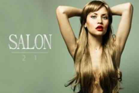 Salon 21 - Cut, Restyle and Conditioning Treatment - Save 69%