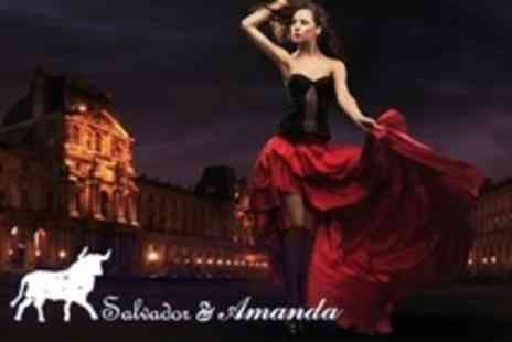 Salvador & Amanda - Evening of Flamenco and Spanish Cuisine For Two With Tapas, Cava, and Live Music - Save 57%