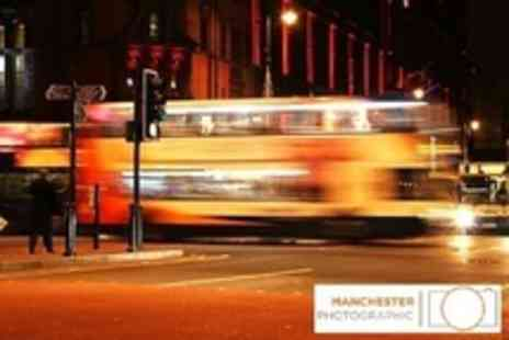 Manchester Photographic - Manchester at Night Photography Class For One - Save 62%