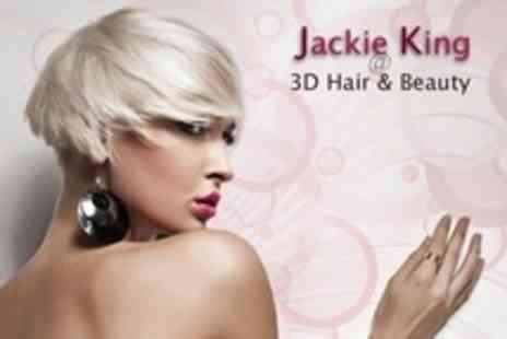 Jackie King - Cut and Finish - Save 40%