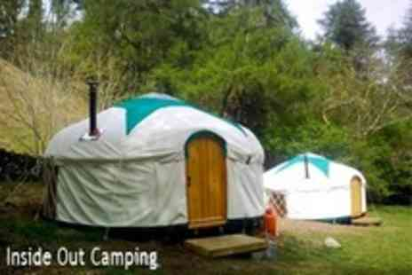 Inside Out Camping - In Lake District Three Night Yurt Stay For Up to Five - Save 51%