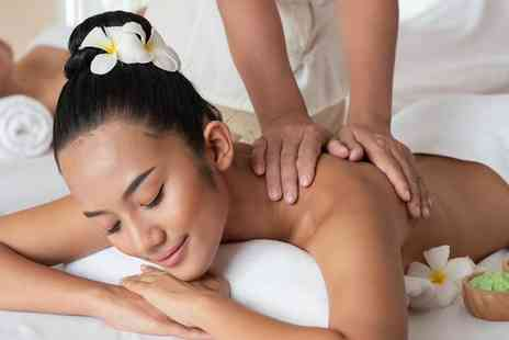 Beauty & Aesthetics - Pamper package including massage and facial for one - Save 74%