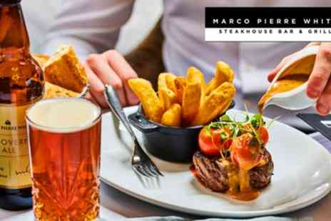 Marco Pierre White Steakhouse Bar & Grill - Two Course Meal for Two - Save 54%