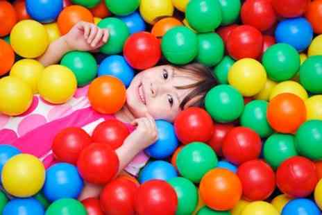 Bubbles Active Play - Soft Play Entry with Soft Drink and Biscuits for Up to Four - Save 39%