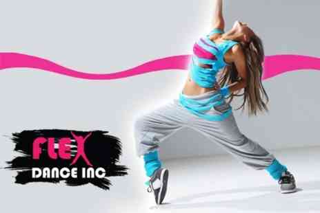 Flex Dance Inc - Five Zumba Classes - Save 60%