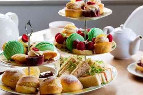The Village Tearoom - Afternoon Tea with Optional Prosecco for Two or Four - Save 21%