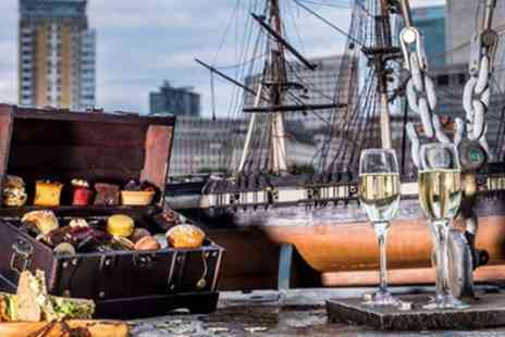 Hilton London Docklands Riverside Hotel - Pirate Themed Afternoon Tea with Bottomless Bubbly - Save 65%