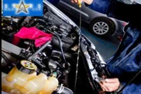 STARS Garage - 80 Point Car Service Including Oil Change and Oil Filter Change plus Wash plus Vac - Save 60%