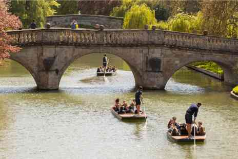 Virgin Experience Days - Sights of Cambridge One Night Luxury Break with Dinner and Chauffeured Cambridge Punting Tour for Two - Save 0%