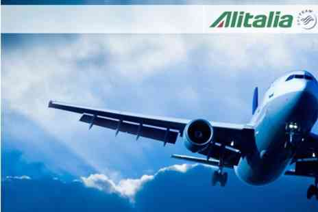 Alitalia - £25 for £150 Voucher Towards Business Class Flights from London to Milan or Rome with Alitalia - Save 83%
