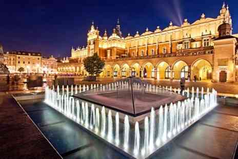 Krakow break with Auschwitz Tour - 2 To 4 Nights at a Choice of Hotels with Flights - Save 0%