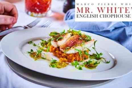 Marco Pierre White - Two Course Meal for Two - Save 49%