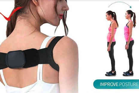 Forever Cosmetics - Generise Flexible Posture Belt and Back Support - Save 69%