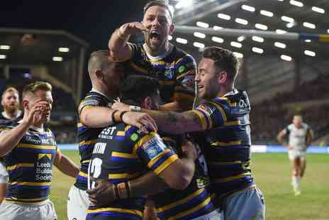 Leeds Rhinos - One adult ticket on Sunday 3rd May 2020 - Save 42%