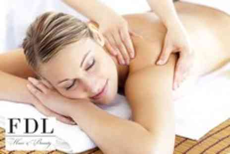 FDL Hair & Beauty - One hour massage from a choice of 5 different styles - Save 75%
