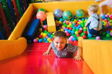 The Fun Station - Full Day Soft Play Access for One or Two Children - Save 20%