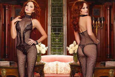 My Voguish - Choker neck body stocking - Save 0%