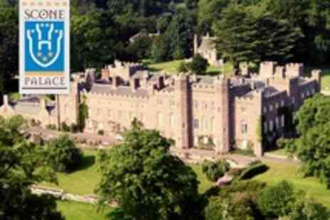 Scone Palace - Family Day Ticket with Access to Adventure Playground and Maze - Save 53%