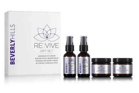 MD3 Advanced Skin Care - Four piece revive skincare gift set - Save 89%