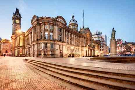 Hallmark Hotel - Four Star Overnight Birmingham break for two with glass of Prosecco, breakfast and late check out - Save 0%
