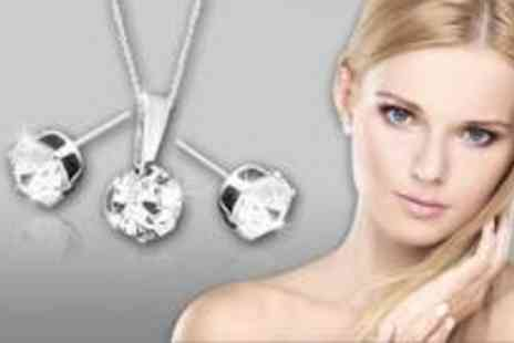 Jewellery Hall - Grade A Swarovski Crystal jewellery set - Save 68%