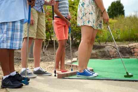 Putt In The Park - 12 Hole Game of Mini Golf for One or Two - Save 50%